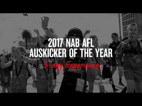 2017 NAB AFL Auskicker of the Year 3-day Experience