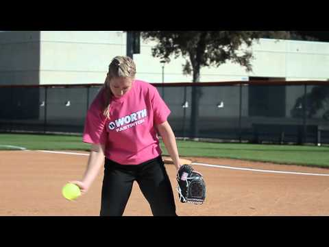 Softball Pitching tips: How to throw a fastball- Amanda Scarborough