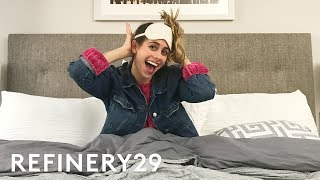 exclusive look at lucie finks morning routine lucie vlogs refinery29