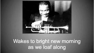 """Lazy River"" - Louis Armstrong"