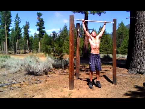 Get a Wider Back with Wide Grip Pull ups