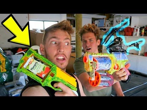 MODDING OUR NERF GUNS!