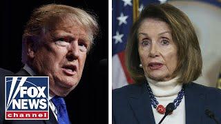Border wall battle gets petty between Nancy Pelosi and President Trump