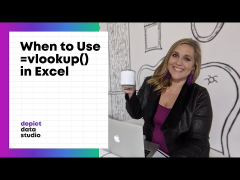 When to Use the Vlookup Function in Excel
