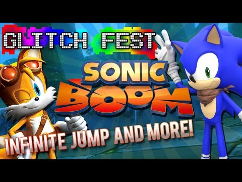 Sonic Boom: Knuckles Infinite Jump & More! - Glitchfest