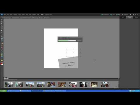 How to create a Photo Collage in Photoshop Elements