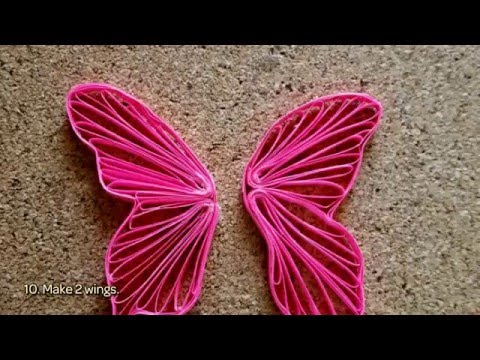 How To Make A Cute Quilling Butterfly - DIY Crafts Tutorial - Guidecentral