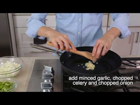 Saute Garlic Onion Pepper