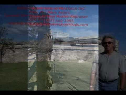 MDPeters Appraisals Inc YouTube Video of real estate appraisal subject homes in Santa Fe New Mexico