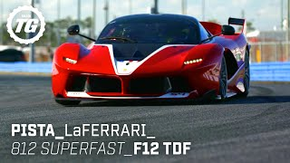 Chris Harris drives... Best of Ferrari: LaFerrari, 488 Pista, 812 Superfast, F12 TDF | Top Gear
