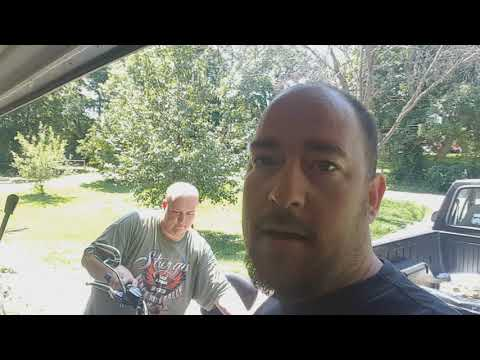 Adams amp on his Harley quit working / 1000 subs thank you!!!