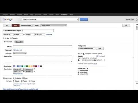 How to Close an Event Calendar on Google Chrome : Internet Browser Tips