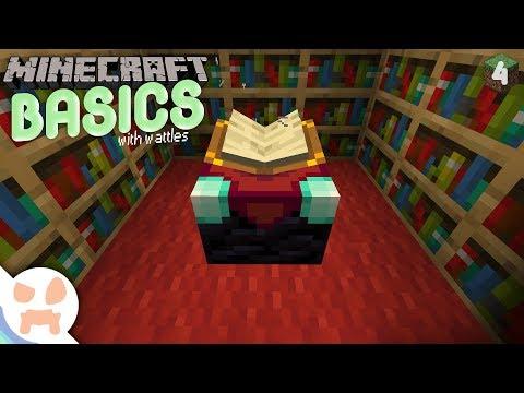 ENCHANTING! | Minecraft Basics 4