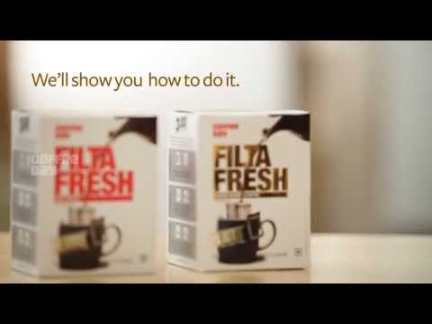 Make your own filter coffee in an instant!