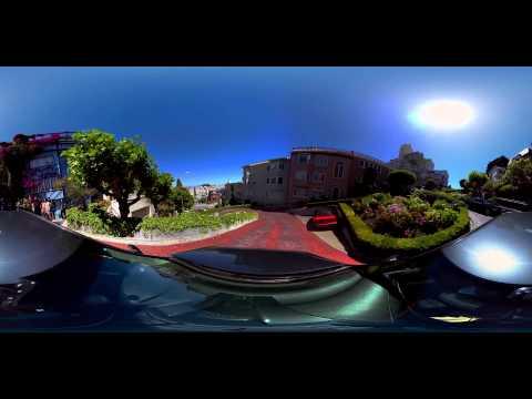 San Francisco Lombard Street 360 experience - FinCloud.tv