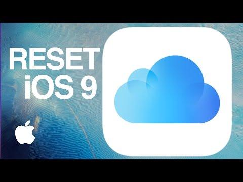 How to Reset iCloud, delete old backup and make new backup iCloud iOS 9 iPhone iPad iPod