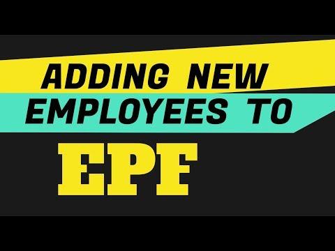 PF New Employee Registration | UAN Generation in EPF Online