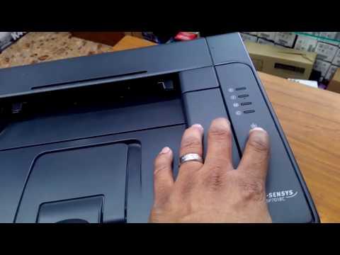 Replacing Toner Cartridges on Canon LBP 7018c LaserJet Printer