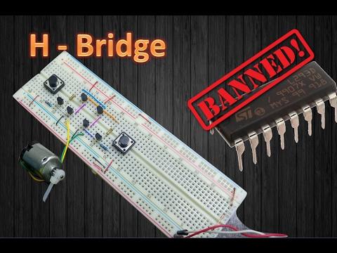 How to Make a H-Bridge Motor Controller / Easy Tutorial