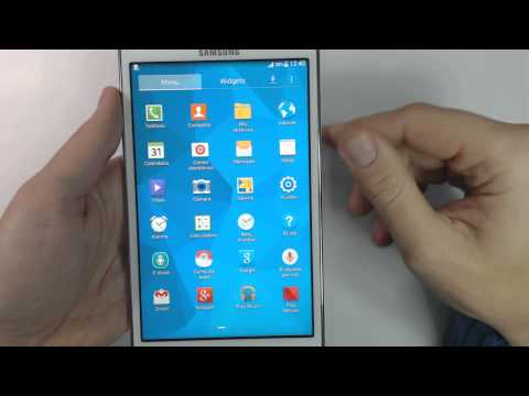 How to change language on Samsung Galaxy Tab 4 7.0 SM-T235
