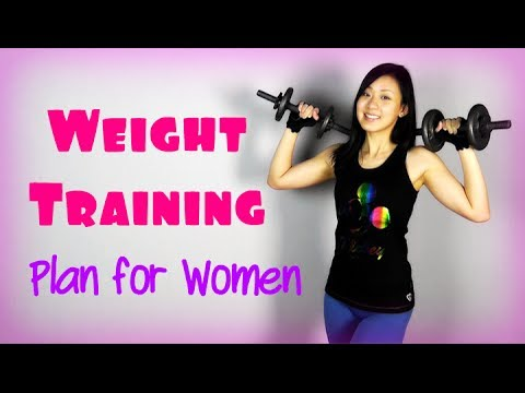 Full Strength / Weight Training Plan for Women