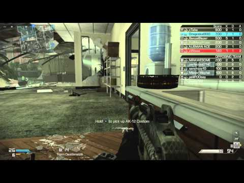 Call of Duty Ghosts - TDM - Flooded (12/23/2013) - (75-21)