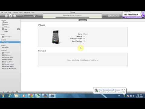 iPhone 3GS How to Downgrade Or Upgrade to 5.1.1 With SHSH [GsmHosting]