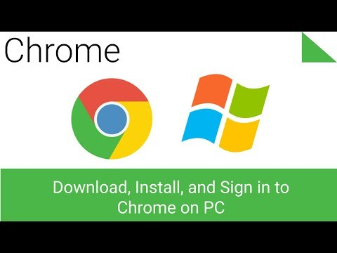 Download, Install and Sign in to Chrome Browser on Windows 7