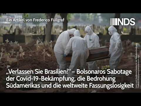 Brasilien - Landräuber infizieren Indigene mit Corona - Bolsonaros Sabotage der Covid-19 Bekämpfung