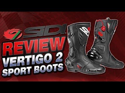 Sidi Vertigo 2 Boots Review | Sportbike Track Gear