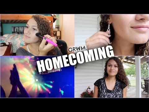 GRWM: Homecoming Dance