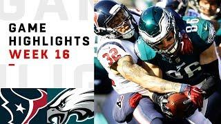 Texans vs. Eagles Week 16 Highlights   NFL 2018