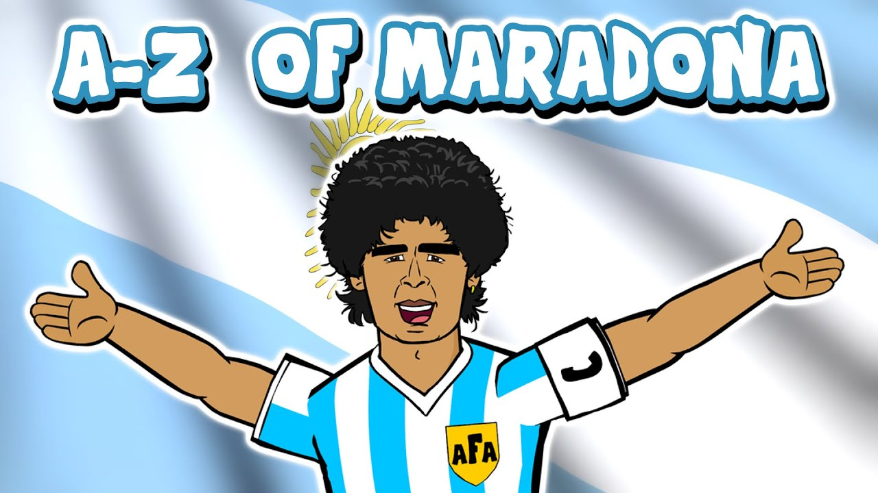 📕DIEGO MARADONA A-Z📘 (Goals Hand of God Goal of the Century Highlights 1986 Mexico)