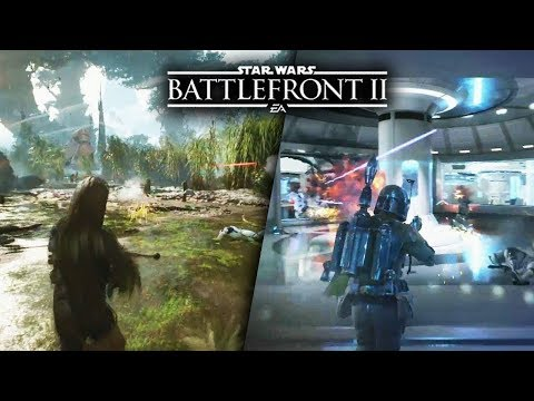 Star Wars Battlefront II |Multiplayer Game modes Gameplay | PS4 Pro Livestream