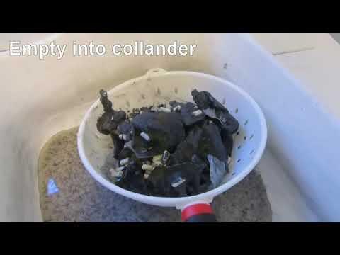 How I make my tumbled glass pendants