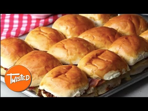 How To Make Cheeseburger French Dip Sliders | Twisted