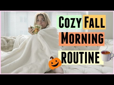COZY FALL MORNING ROUTINE