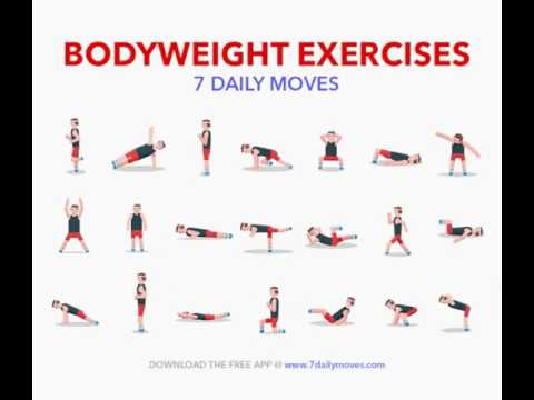 Home Exercise for burning fats and build strength
