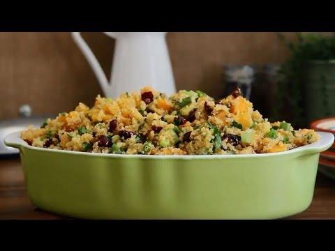 How to Make Quinoa Stuffing | Vegetarian Recipes | Allrecipes.com