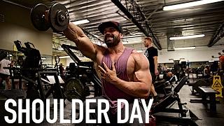 GET BIGGER | Shoulders | Front Delts | Ep  2