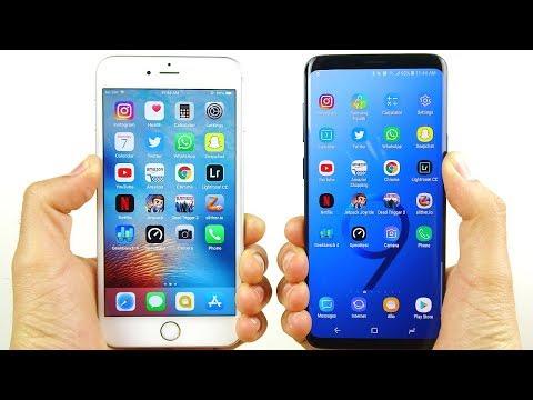 iPhone 6S Plus vs Galaxy S9 Plus Speed Test!