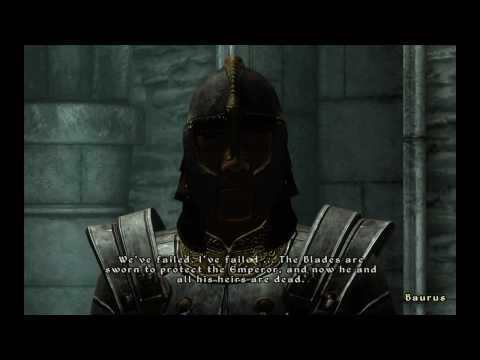 Oblivion how to keep the emperor alive and get a henchman early