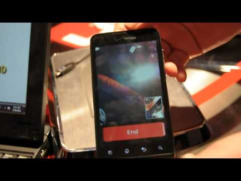 LG Revolution 4G LTE Verizon video call