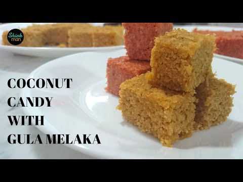 Shiokman Coconut Candy with Gula Melaka (Palm Sugar)