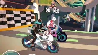 Gravity Rider Gameplay | Space Bike Racing Game Online