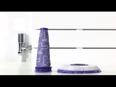 Dyson Ball Compact, DC50 and DC51 - Washing the filters (Official Dyson video)