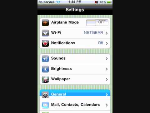 How To Set Battery Percentage On Iphone 3gs