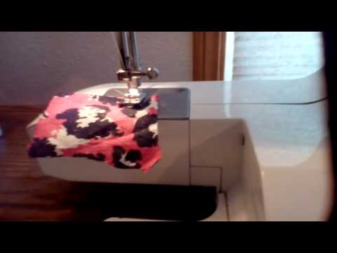 How to thread a sewing machine slow down part 2