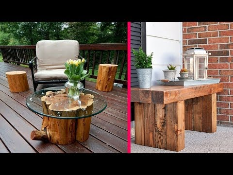 Creative Ideas DIY Outdoor Wood Projects Design