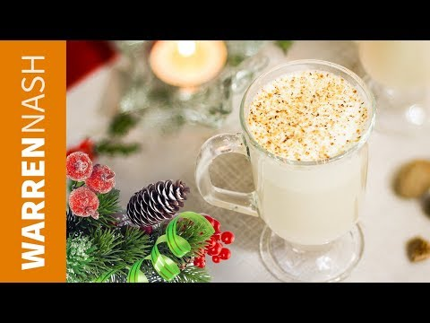SERIOUSLY Tasty Duck Egg Eggnog - Christmas Drinks Recipes by Warren Nash #Ad